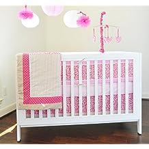 Pam Grace Creations Tabby Cheetah 10 Piece Baby Crib Bedding Set