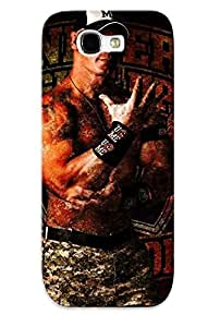 Catenaryoi Perfect Tpu Case For Galaxy Note 2/ Anti-scratch Protector Case (john Cena) by lolosakes
