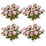 Four-Pieces-of-18-Artificial-Ranunculus-Flower-Bushes