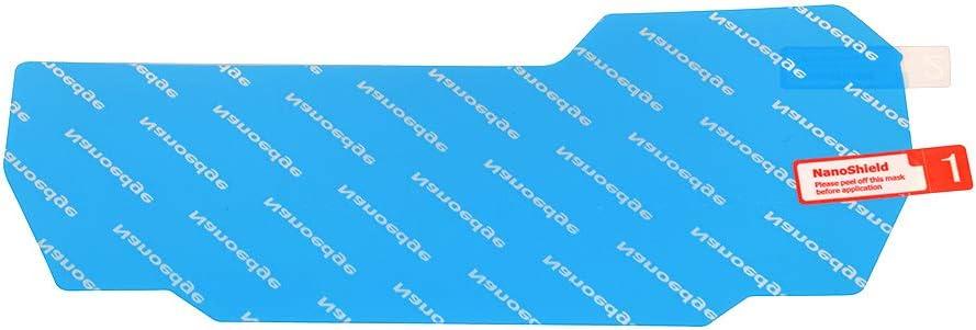 Protecteur d/écran de Tableau de Bord Moto TPU Film de Protection de Jauge Transparent Autocollant Indicateur de Vitesse pour Yamaha YZF R125 R15//V3 2019 Transparent