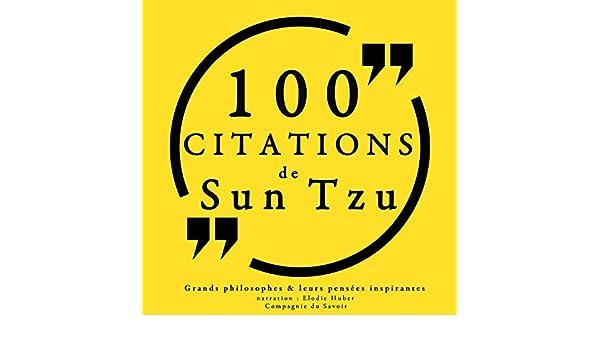 Amazon Com 100 Citations De Sun Tzu Audible Audio Edition Sun