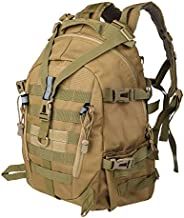 LHI Tactical Military Backpack for Hiking Daypack Camping Pack for Trav