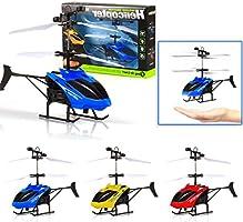 Amazon.com: staron RC helicóptero Infraed de inducción ...