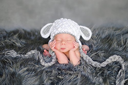 Image Unavailable. Image not available for. Color  baby lamb hat ... 43c91f416a7