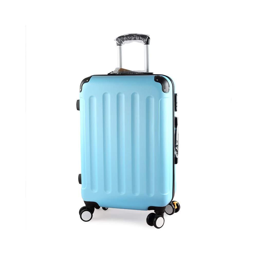 QL-スーツケース ブルートロリーケースパスワードボックススーツケース男性スーツケース女性大容量スーツケース学生ボックスブレーキホイール付きエクステンション、5サイズから選択可能 旅行用品 (Size : 37.5cmX23cmX60cm) B07T4SYQJ7  37.5cmX23cmX60cm