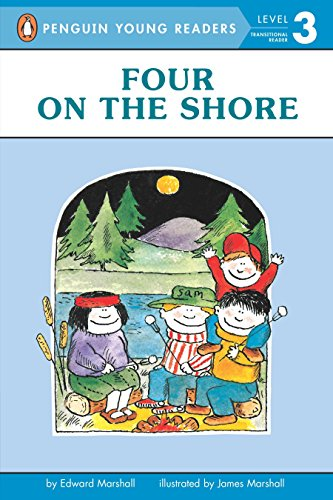 Four on the Shore (Penguin Young Readers, Level 3) -