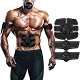ITERY Muscle Toner, Abdominal workouts Fitness Portable AB Machine Abdominal Toning Belt Training ABS Trainer Wirless Muscle Toning for Abdomen/Arm/Leg for Men Women