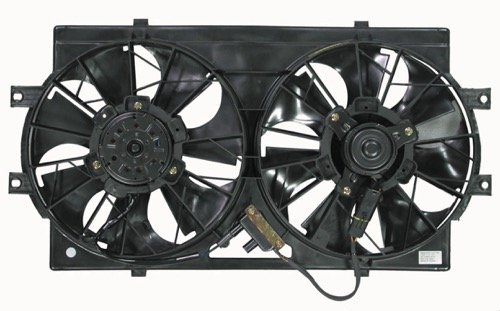 Go-Parts » Compatible 1994-1997 Chrysler LHS Engine/Radiator Cooling Fan Assembly 4596212 CH3115108 Replacement For Chrysler LHS ()