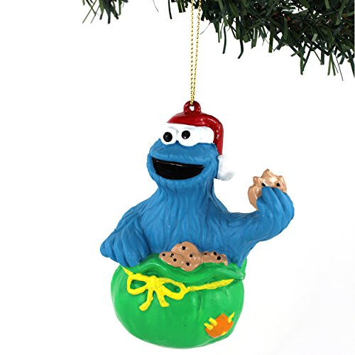 Sesame Street Kurt Adler Blow Mold Ornament Gift Boxed