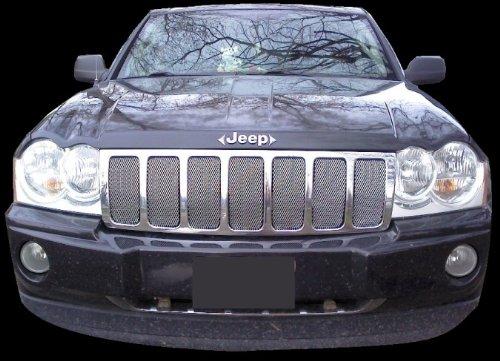 jeep cherokee 2007 grill - 5