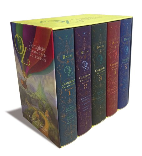Oz, the Complete Hardcover Collection: Oz, the Complete Collection, Volume 1; Oz, the Complete Collection, Volume 2; Oz, the Complete Collection, ... 4; Oz, the Complete Collection, Volume 5 [L. Frank Baum] (Tapa Dura)