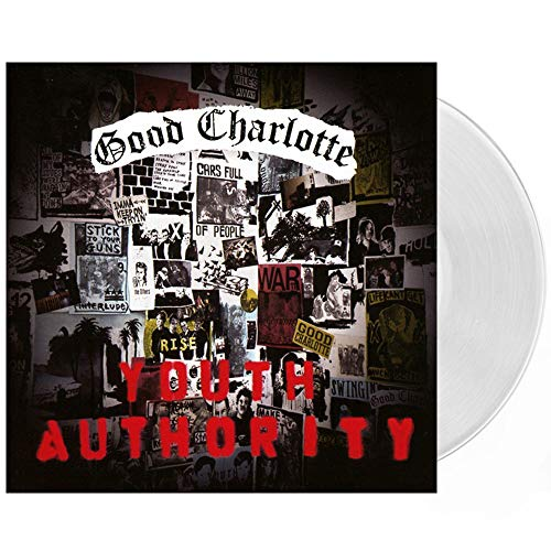 Good Charlotte - Youth Authority Exclusive Clear LP Vinyl