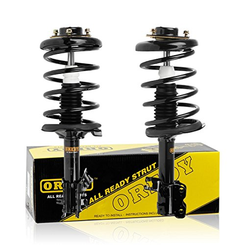 Front Pair Quick Strut Complete Assembly Shock Absorber for 2000 2001 Nissan Maxima Infiniti I30