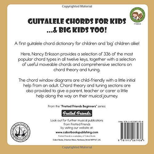 Guitalele Chords For Kids Big Kids Too Fretted Friends