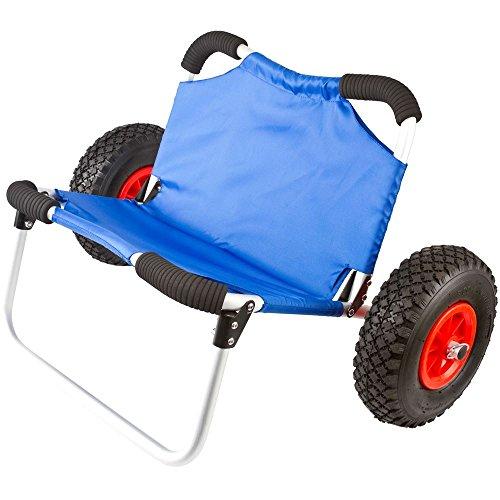 Hull Kayak & Canoe Dolly Cart with Seat ()