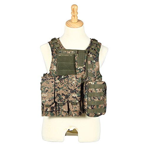 army digital camo vest - 7