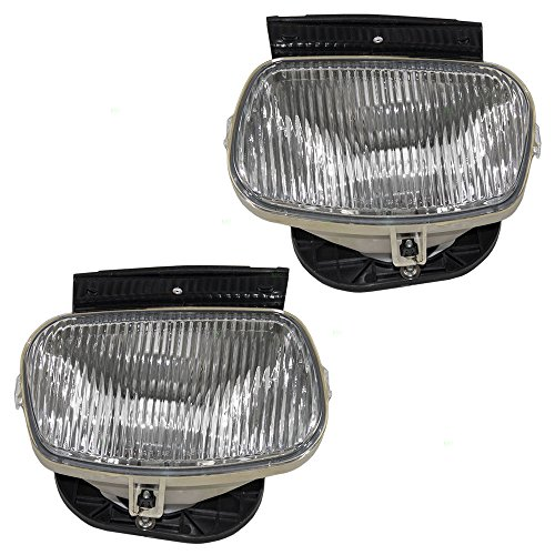 - Driver and Passenger Fog Lamps Replacement for Ford Mazda ZZS0-51-690 ZZS0-51-680 AutoAndArt
