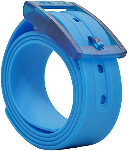 PlugBelt Azul Claro - Cinturon de golf para hombre, silicona ...