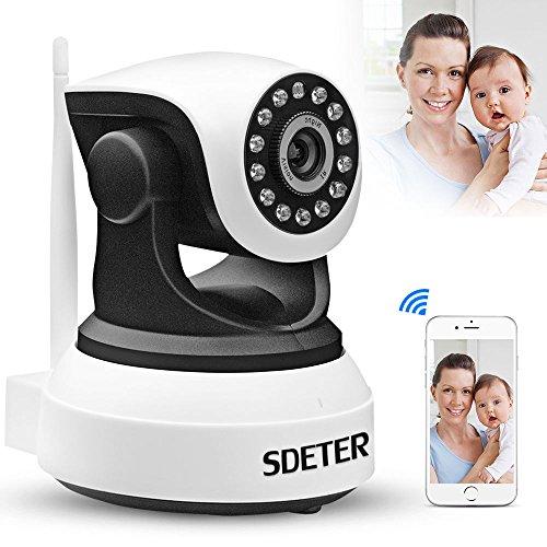 Wireless Pan Tilt 720P Security Network CCTV IP Camera baby monitor Night Vision WIFI Webcam (Monitor Cctv Large)