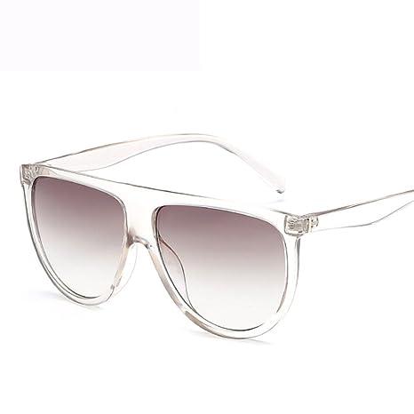GUOHONG Moda Casual Big Box Gafas De Sol De Moda Europa Y ...