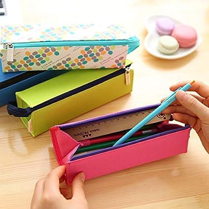 Global Brands Online WAM PC-01 Lápiz Caso Lápiz para niños de regalo Caja BolÃgrafo Bolsa Estudiantes Escuela ArtÃculos de papelerÃa: Amazon.es: Oficina y papelería