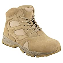 "Rothco 5368 6"" Desert Tan Forced Entry Deployment Boot - Men's"