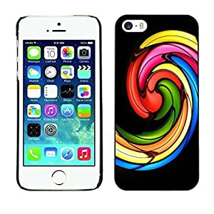 Style Protective Case Hard Shell Cover for Cellphone Iphone 5 5S Church Stained Glass Black ka ka case
