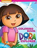 Dora The Explorer Coloring Book: Great Activity Book for Kids and Toddlers