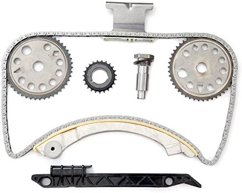 OCPTY Timing Chain Kit Tensioner Guide Rail Cam Sprocket fits for 1996 1997 Lexus LX450 4.5L 4477CC l6 GAS DOHC Naturally Aspirated