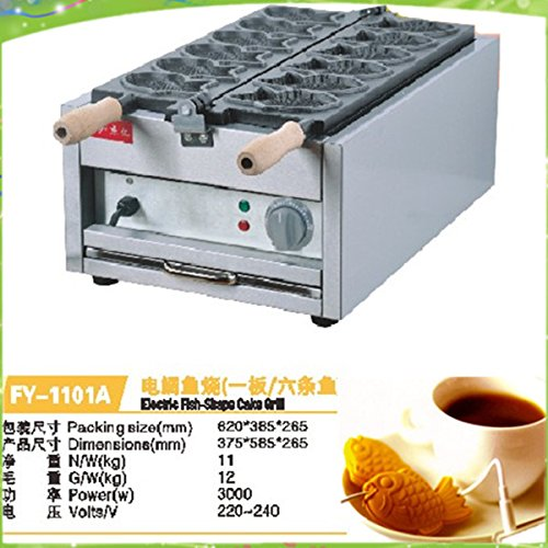 Japanese 6 mould tayaki maker electric taiyaki machine by ANGELGARDEN