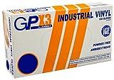 Ammex GPX3 Vinyl Glove, Latex Free, Disposable, Powder Free, X-Large (Box of 100)