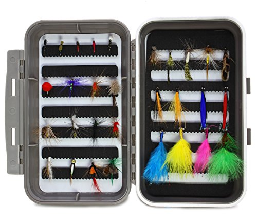 LotFancy 20PCS Flies Fishing Tackle