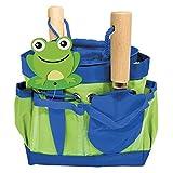 Family Games Little Moppet Kids Gardening Growing Kit, Blue