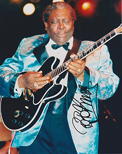 Bb King Autograph - BB B.B. King reprint signed blues legend photo #1 RP