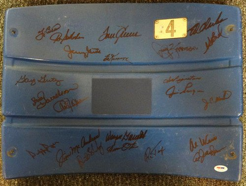 1969 New York Mets Signed Shea Stadium Seatback With 22 Signatures Including Tom Seaver & Yogi Berra - Certified Genuine Autograph By PSA/DNA - Autographed Baseball (Shea Autographed Baseball)