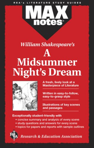 Midsummer Night's Dream, A  (MAXNotes Literature Guides)