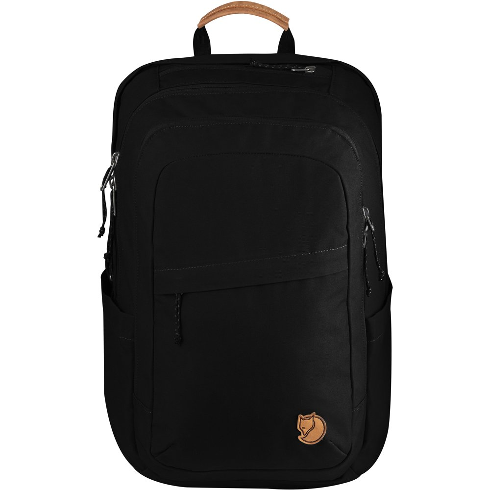 Fjallraven Raven 28 Daypack, Black, One Size
