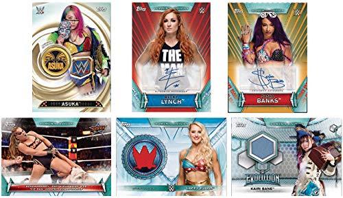 2019 Topps WWE Womens Division Wrestling HOBBY box 24 pks//bx