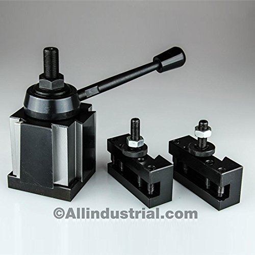 3 PC BXA WEDGE TOOL POST INTRO SET CNC TURNING,FACING, & BORING LATHE HOLDERS by All Industrial