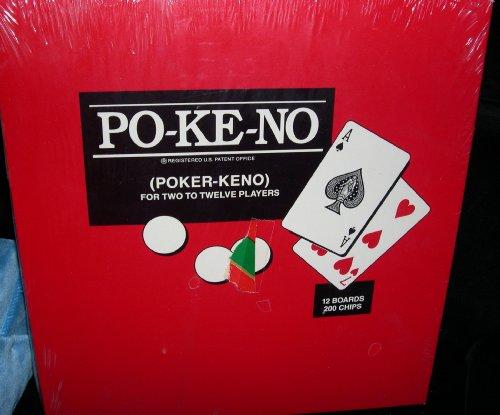 Us Playing Cards VINTAGE GAME -- PO-KE-NO -- POKER - KENO...