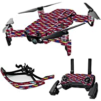 MightySkins Skin for DJI Mavic Air Drone - Saltwater Collage | Max Combo Protective, Durable, and Unique Vinyl Decal wrap cover | Easy To Apply, Remove, and Change Styles | Made in the USA