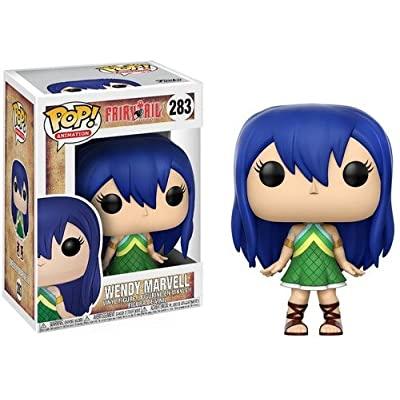 Funko POP Anime: Fairy Tail Wendy Marvell Collectible Vinyl Figure: Funko Pop! Anime:: Toys & Games