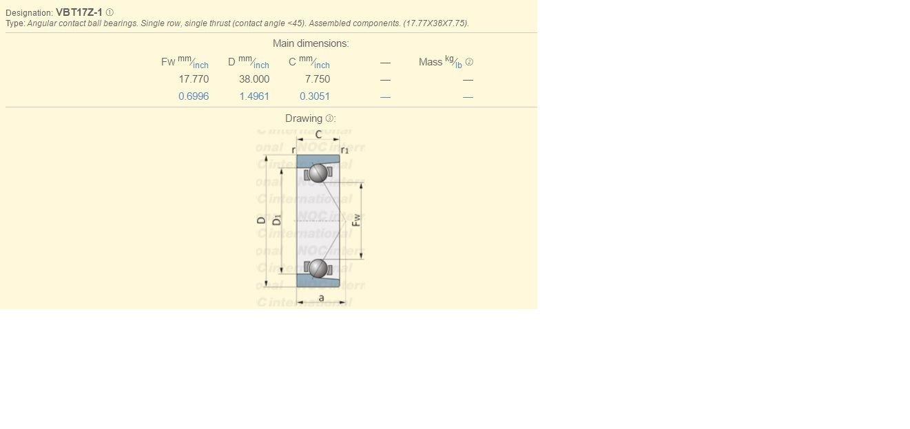 Kubota Yanmar Mitsubishi Iseki Massey Case Steering Engine Diagram Bearing Vbt17z 1 Kitchen Dining