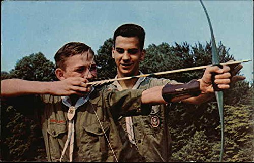 One of the many exciting activities for boys at Camp Norse BSA Original Vintage Postcard
