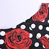 Dresses for Womens,DaySeventh Women Vintage Bodycon Short Sleeve Casual Retro Evening Party Prom Swing Dress