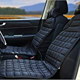 Alinshi Car Heated Seat Cover Cushion Hot Warmer - 12V Heating Warmer Pad for Winter Driving