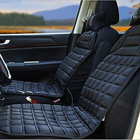 Alinshi Car Heated Seat Cover Cushion Hot Warmer - 12V Heating Warmer Pad for Winter Driving (12 V Prius Outlet)
