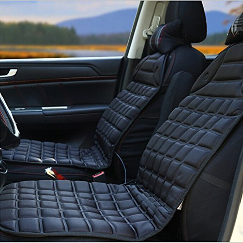 Alinshi Car Heated Seat Cover Cushion Hot Warmer - 12V Heati