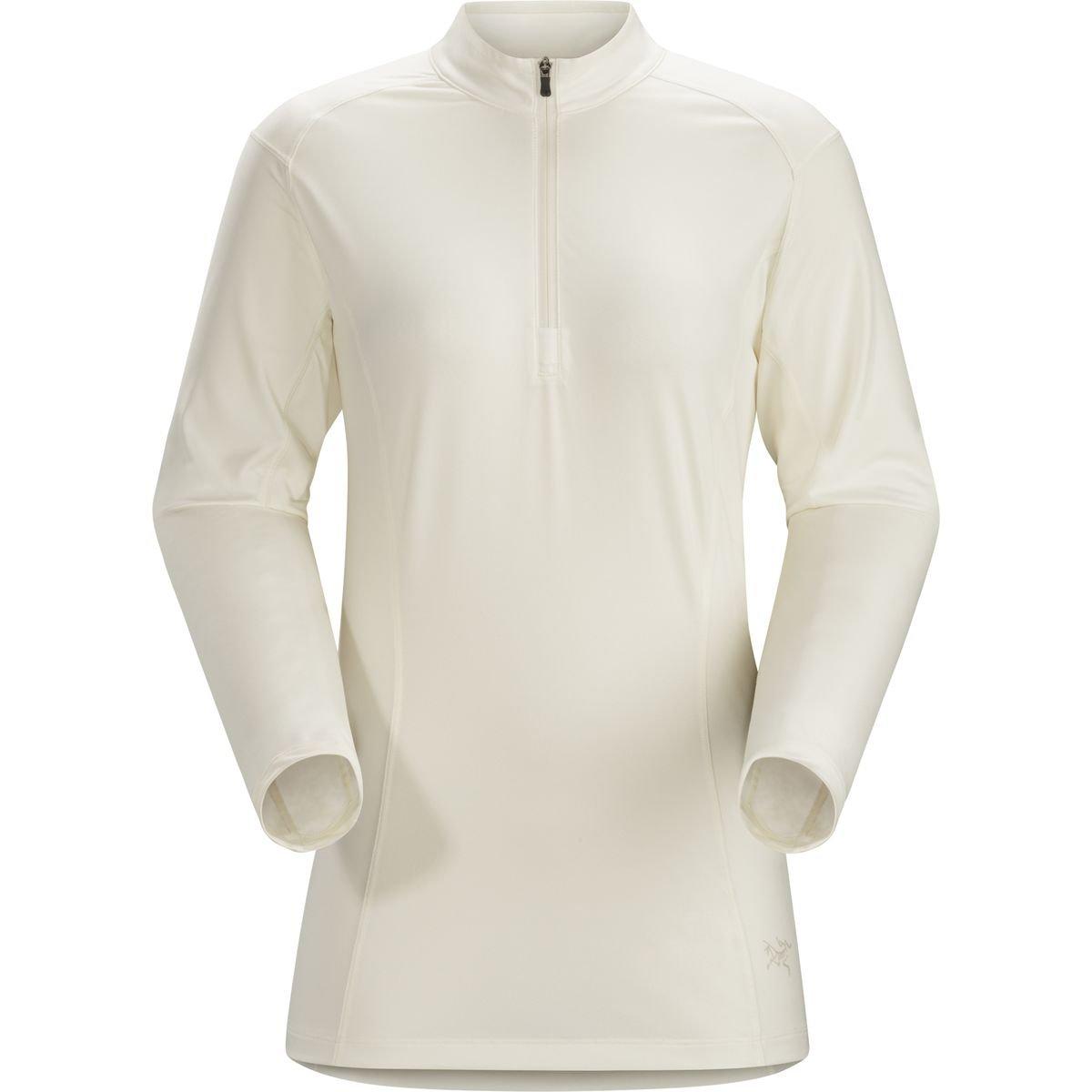 (アークテリクス) Arc'teryx Skeena Zip-Neck Shirt レディース シャツトップスVintage Ivory [並行輸入品] B06WRNJ21Z Vintage Ivory L