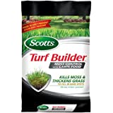 Scotts Turf Builder Lawn Food - Lawn Food with Moss Control Fertilizer, 5,000-Sq Ft